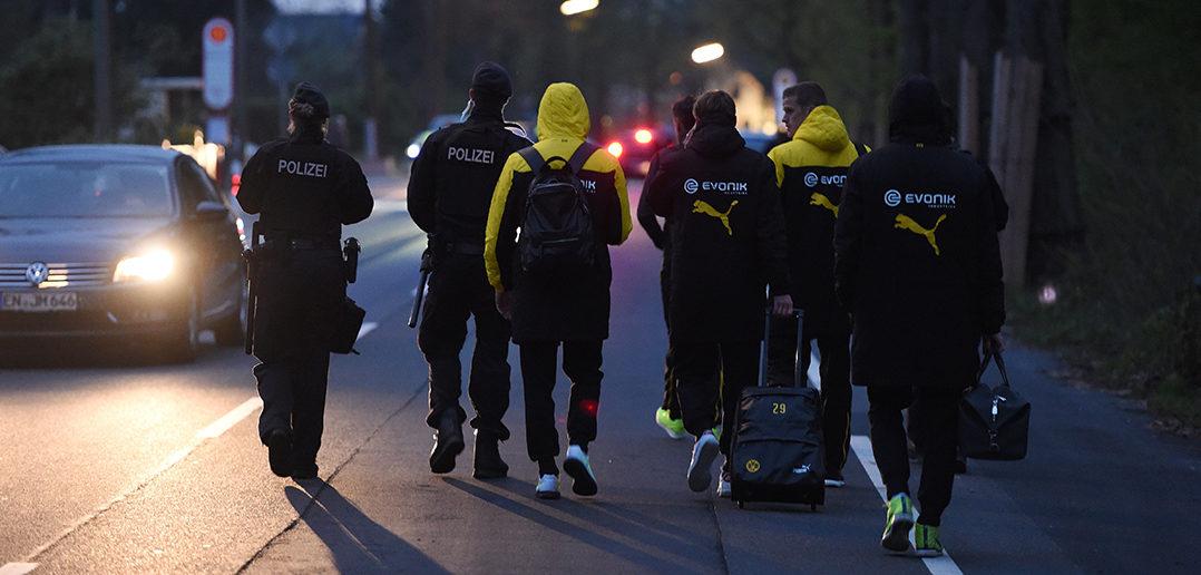 BVB-Spieler nach Anschlag