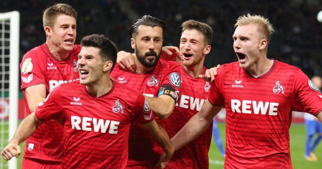 1. FC Köln Jojic Maroh Heintz Sörensen Özcan