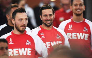 STUTTGART, GERMANY - OCTOBER 13: Claudio Pizarro of 1.FC Koeln walks out of the tunnel before the Bundesliga match between VfB Stuttgart and 1. FC Koeln at Mercedes-Benz Arena on October 13, 2017 in Stuttgart, Germany. (Photo by Matthias Hangst/Bongarts/Getty Images)