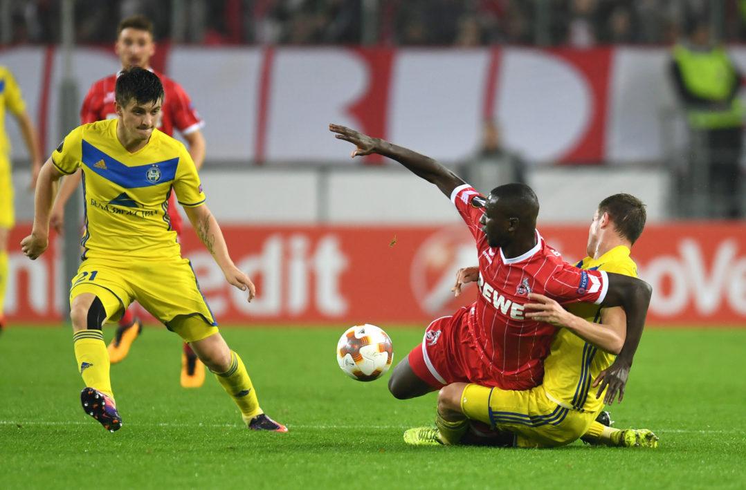 Sehrou Guirassy 1. FC Köln Europapokal Europa League BATE Borisov